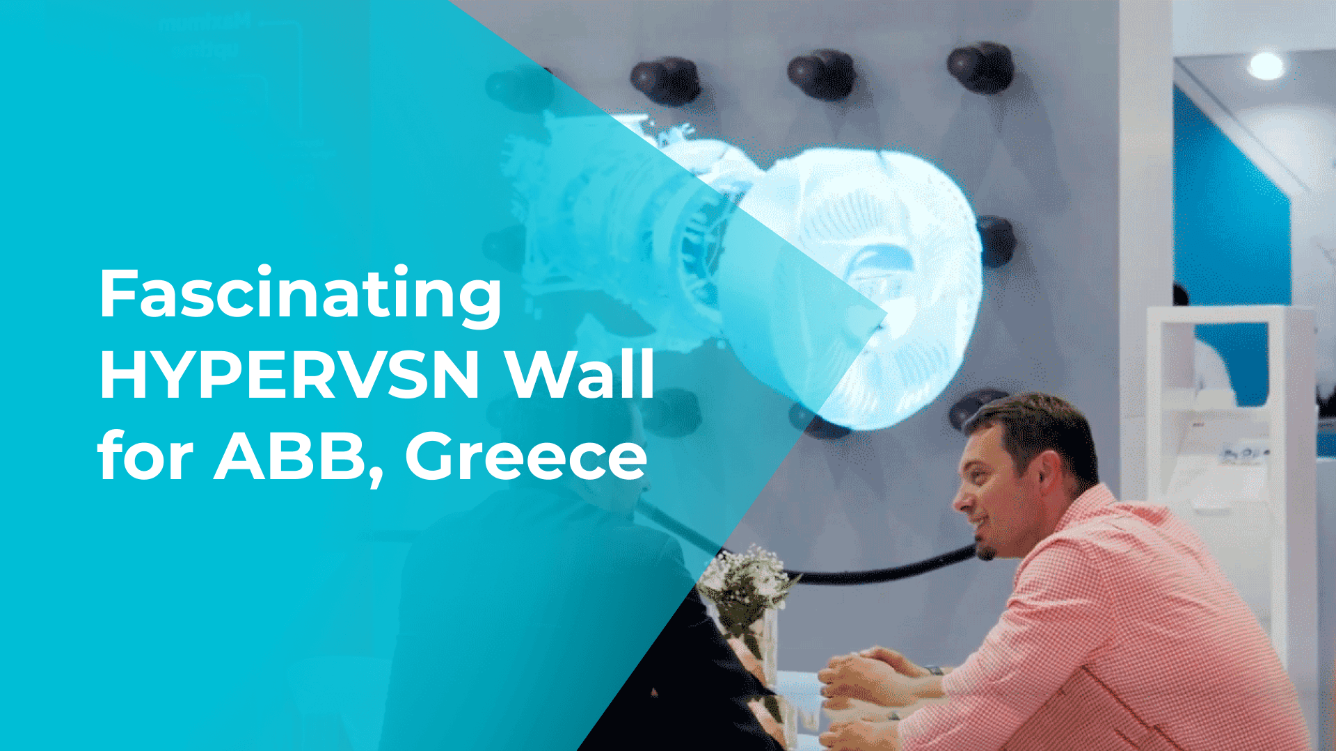 Fascinating HYPERVSN Wall for ABB, Greece