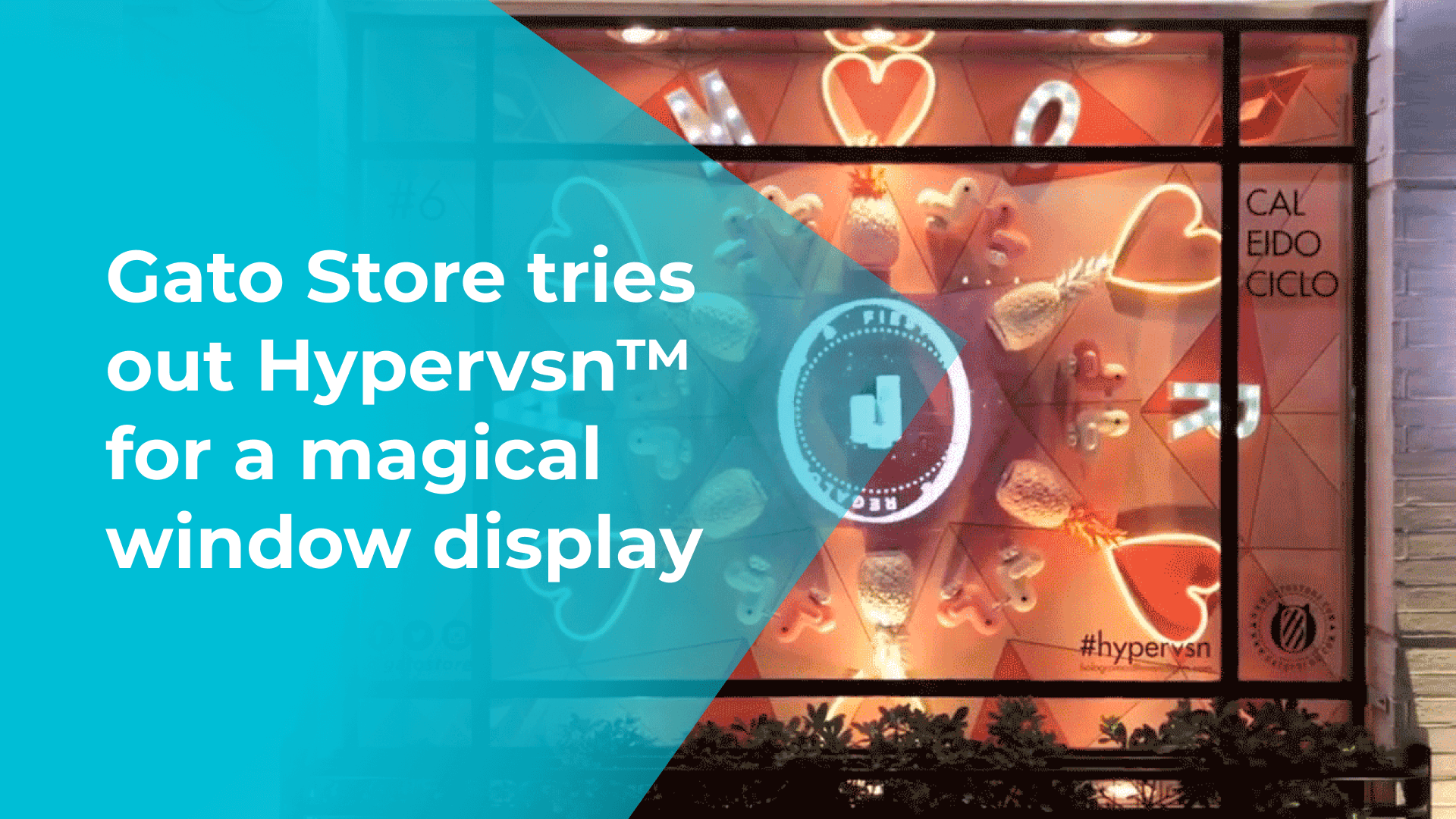 Gato Store tries out Hypervsn