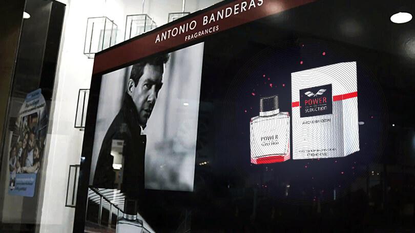 HYPERVSN at Antonio Banderas DPOS campaign in Argentina