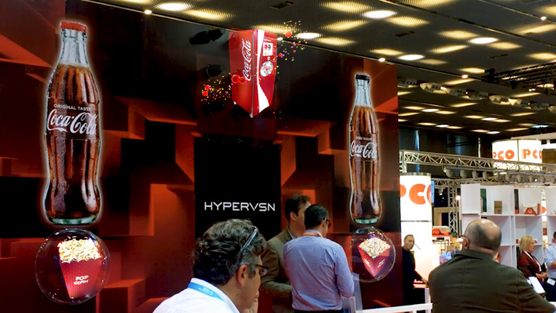 HYPERVSN holography at CineEurope 2019