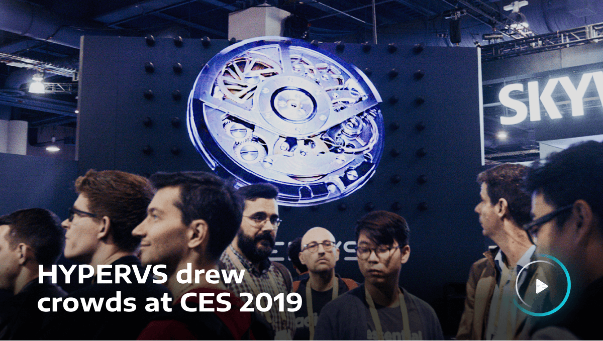 HYPERVSN drew crowds at CES 2019