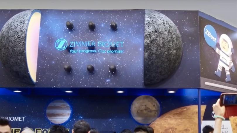 HYPERVSN 3D holograms for Zimmer Biomet