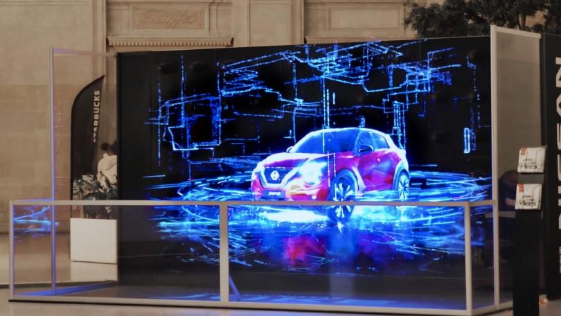 HYPERVSN Wall for Nissan Juke Launch
