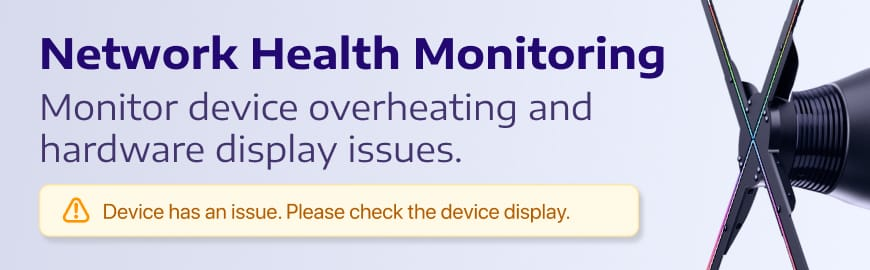 Health Monitoring Banner