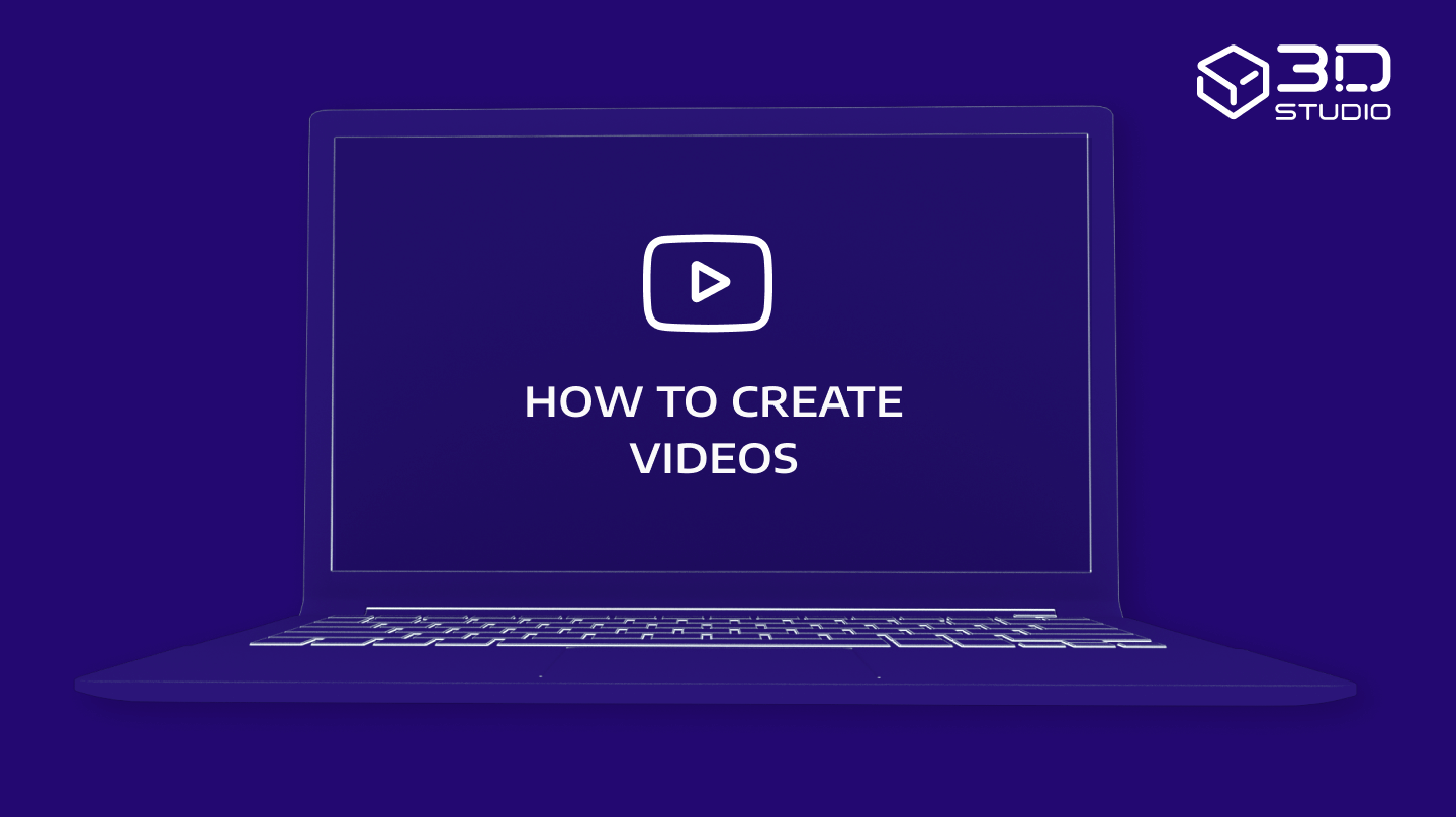 How to create videos in HYPERVSN 3D Studio