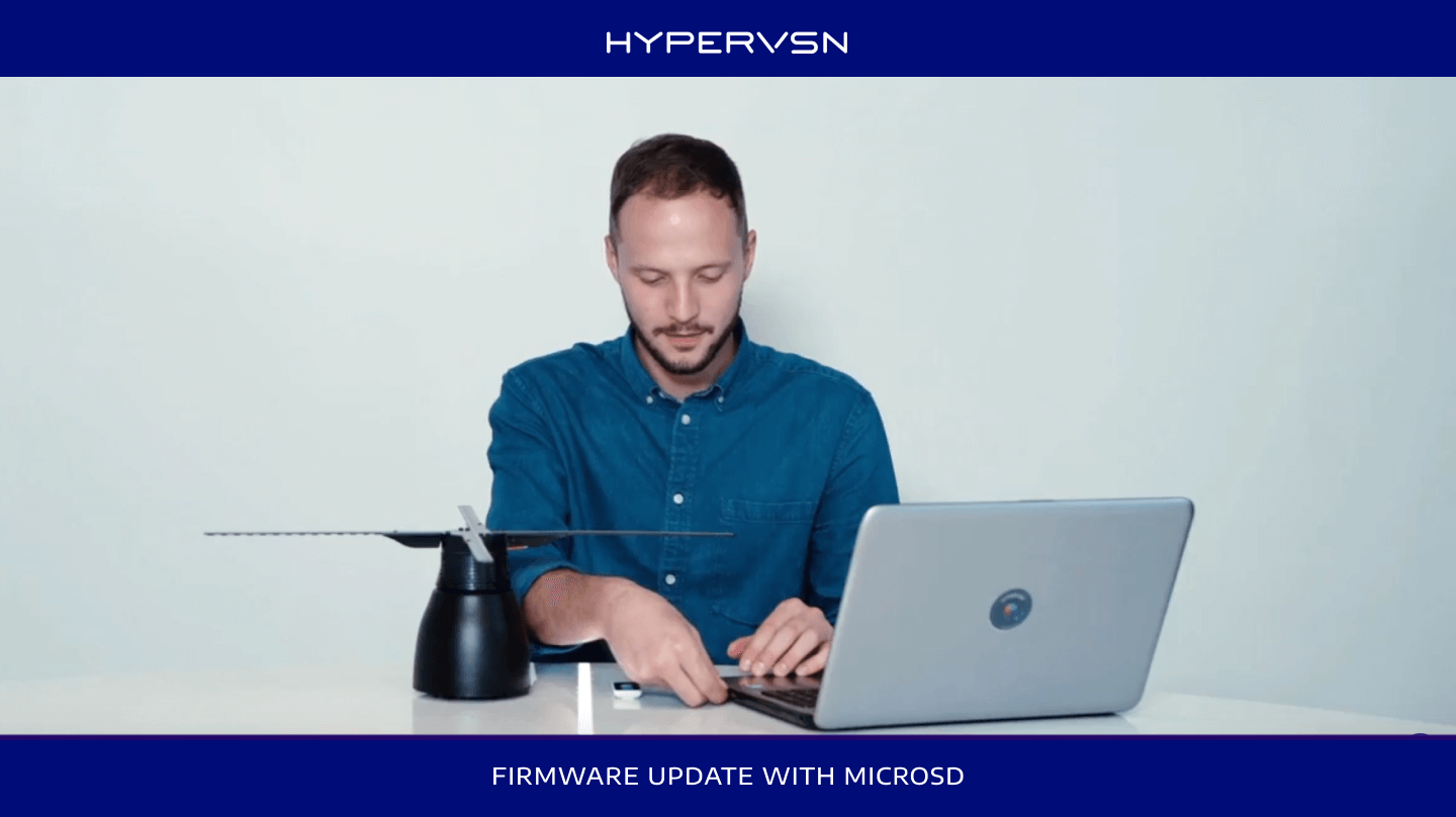 How to update firware with microSD